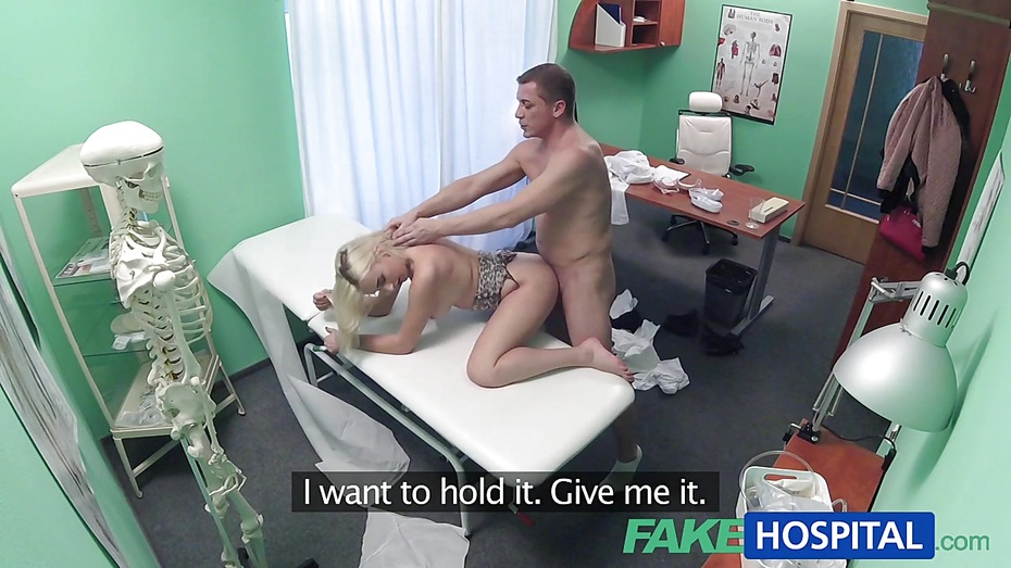 image Fakehospital sexy nurse makes doctors son cum twice
