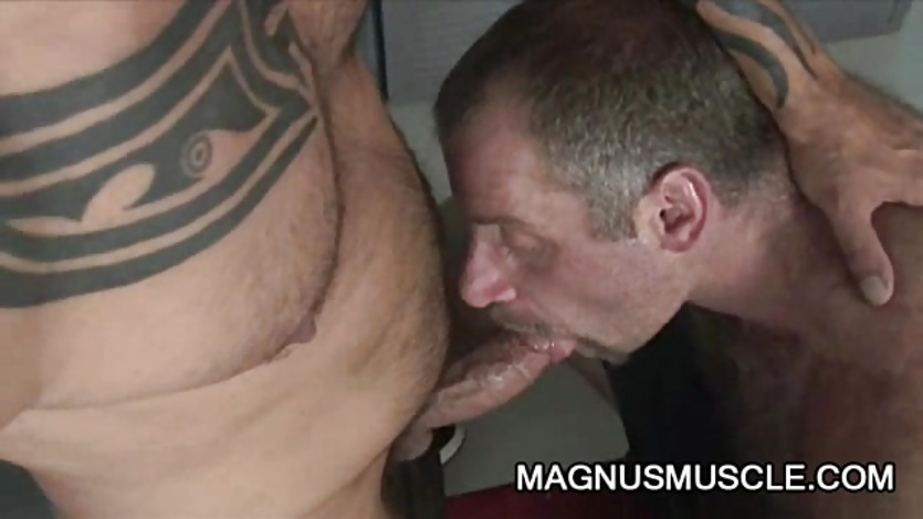 Tom Colt and Christian Volt: Old Men Gay Sex