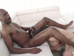 interracial anal play rough