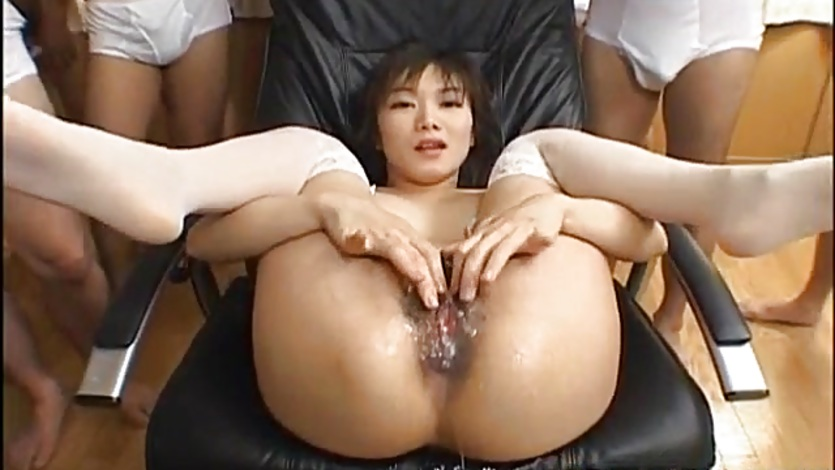 image Ruri anno has funnel with cum in her crack