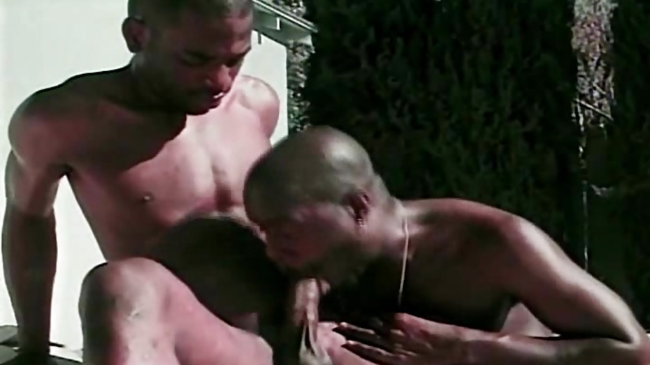 Black Ghetto Gay Do Anal Fucking Outdoor