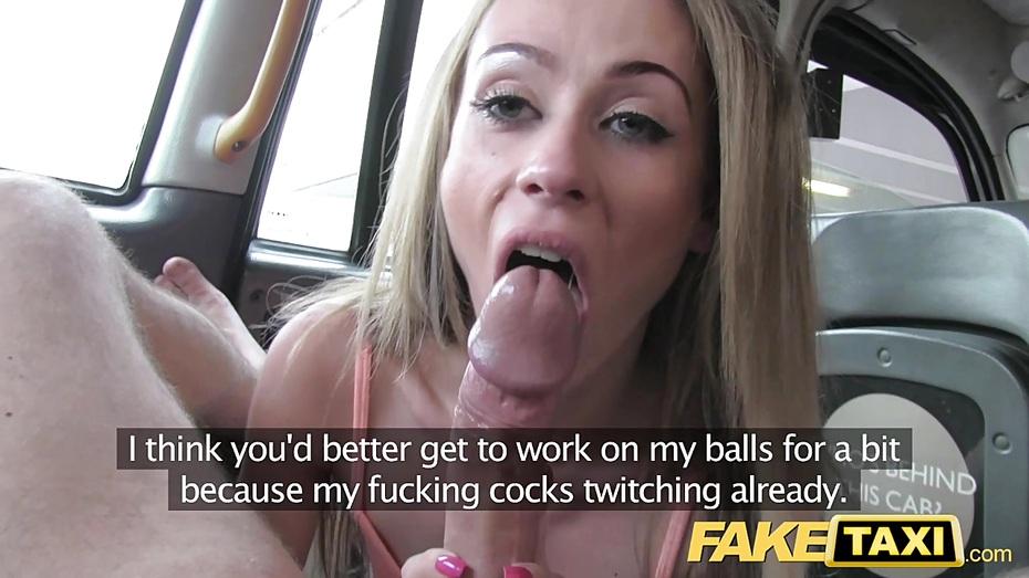 Fake Taxi Stockings Blonde
