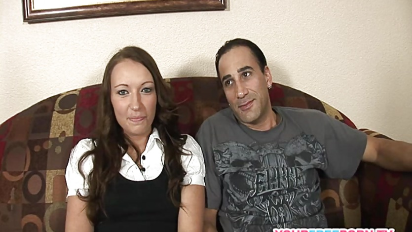 Horny Euro wife Natasha Nice does a threesome with hubby and his friend  554428