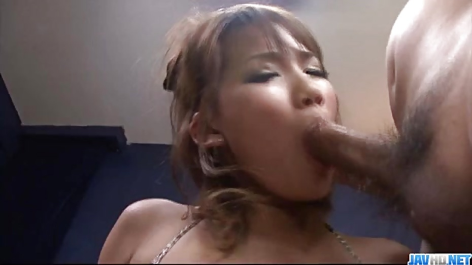 image Hot akiho nishimura deals two cocks in nasty threesome