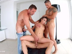 Gonzo anal scene with Anita Bellini by Ass Traffic preview