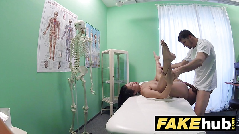 Fake Hospital Cock hungry oriental French chick