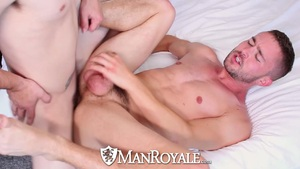 Manroyale frisby enjoyment turns into fuckfest at home