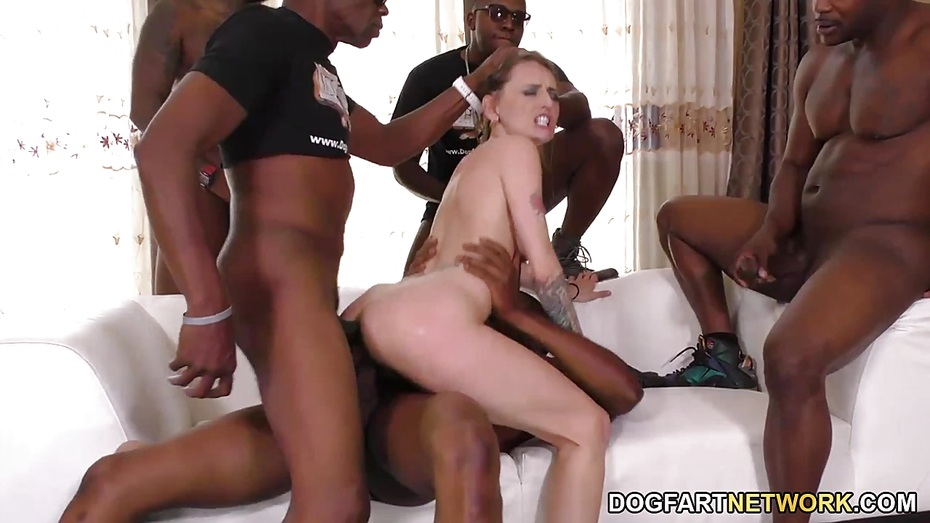 Leah Luv Anal Interracial