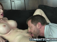 Lilith Lust - Busty RedHead Drilled By A Daddy Cock preview