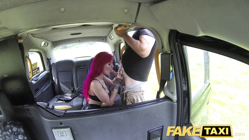 Fake taxi british creampie You