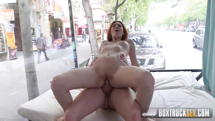 Allegra agrees to an erotic photoshoot in public 8