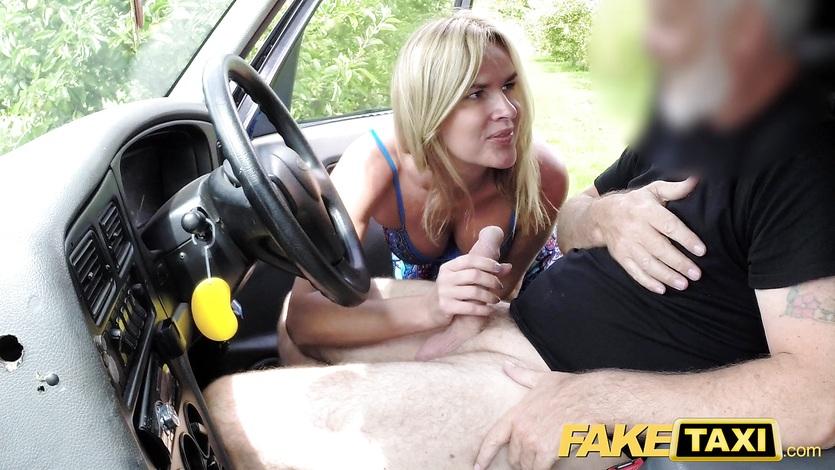 Fake taxi mum with big natural tits gets big british cock 3