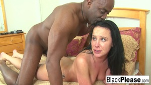 Katie St Ives gets black dick