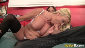 Mature Blonde Loves To Suck Cock