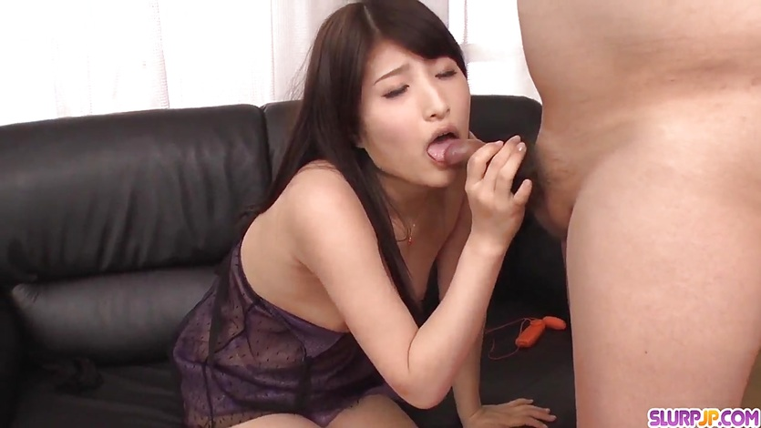 Chinatsu kurusu goes wild on cock during work hours 5