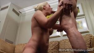Cock sucking big tit milf heidi