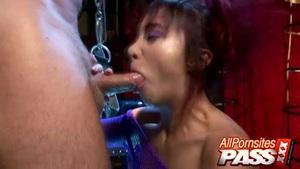 Naughty cytherea cock sucking #10
