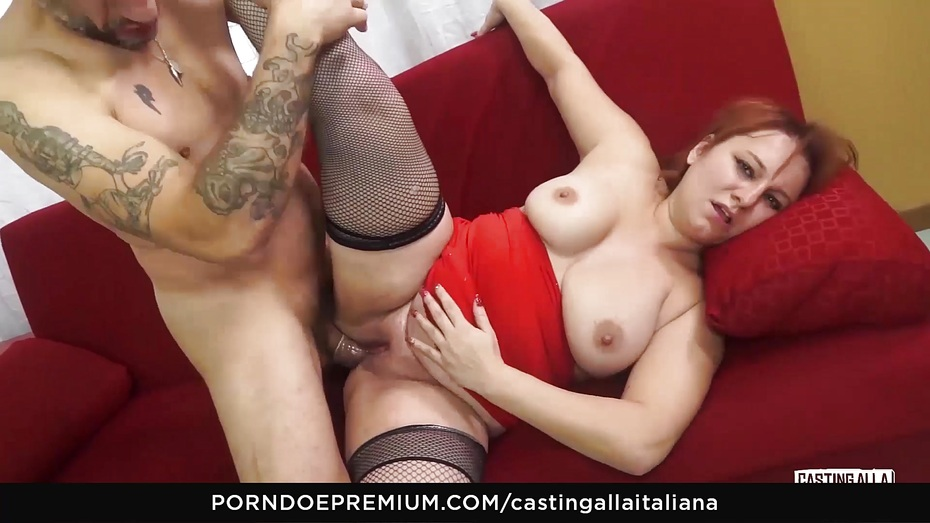 Casting alla italiana audition porn with romanian brunette