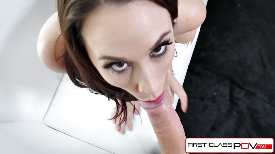 Firstclasspov stunning chanel preston suck a big hard dick