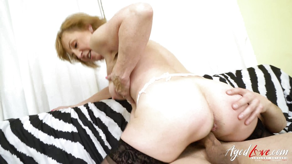 image Agedlove blonde mature fucked hard by youngster