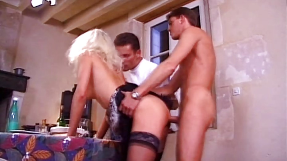 Nikky andersson fucks while two lesbians are watching her 5