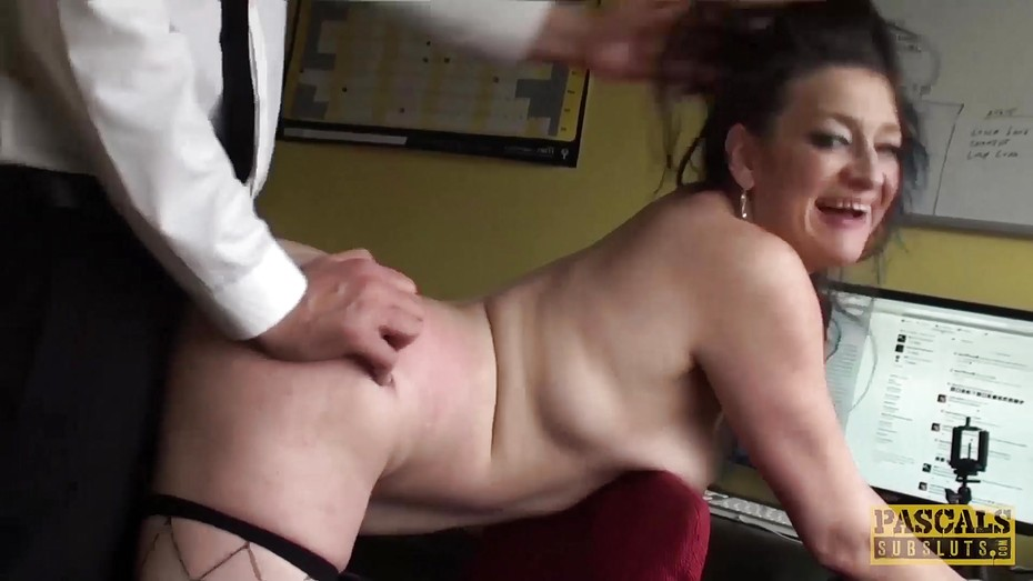 image Inked uk skank railed rough in ass by maledom