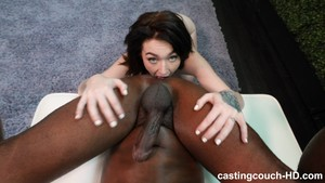 Plump Ass White Girl Does Anal For 1st Time With BBC. CastingCouch HDEx  Girlfriend