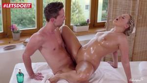 Creepy massage porno