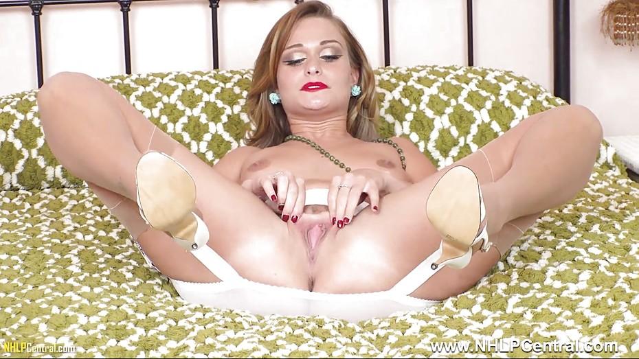 Pantyhose stocking heel movies