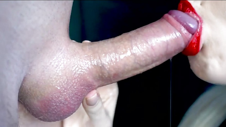 Close Up Pulsating Cum Mouth
