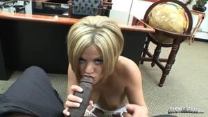 BBC Lex Steele Drills Blonde Beauty Nikki Grind